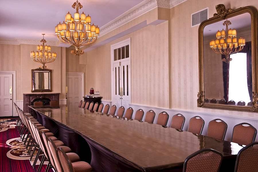 Meeting Floor Plan of Historic Inns , Annapolis
