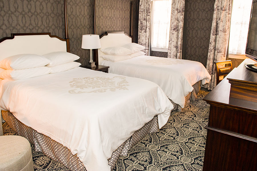 DOUBLE DOUBLE Bed Room of Maryland Inn of Historic Inns Annapolis