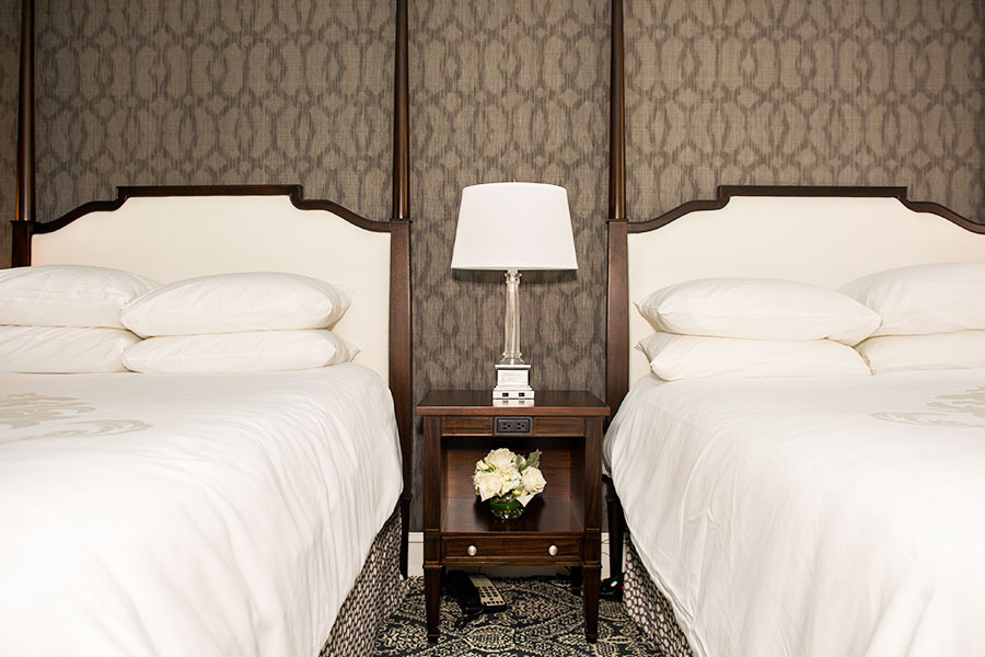 Pure Wellness Robert Johnson Double Double Bed Room in Historic Inns Annapolis