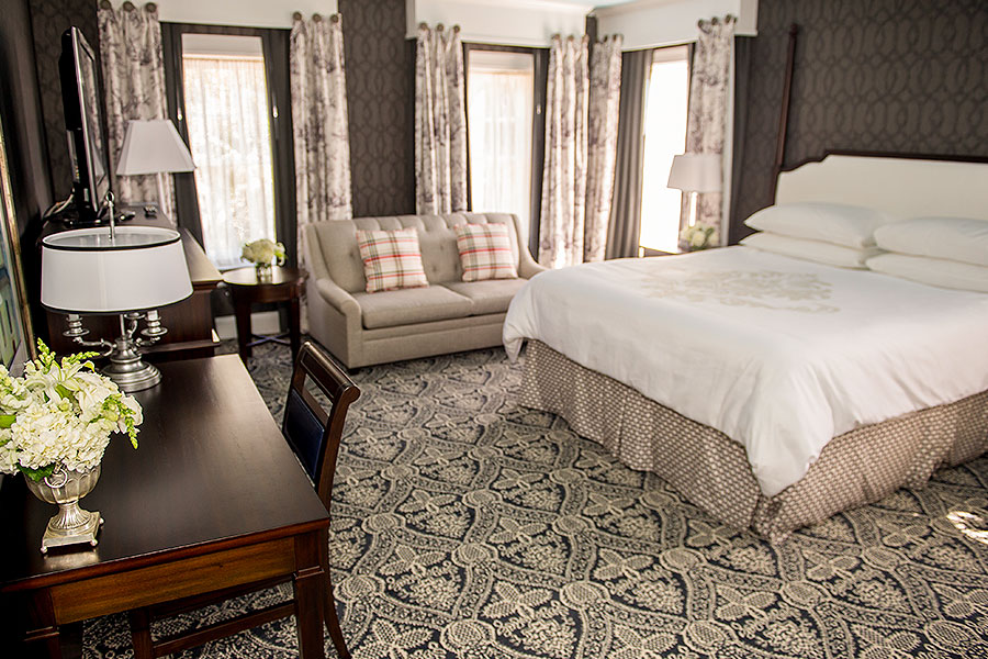 Pure Wellness Robert Johnson King Room in Historic Inns Annapolis